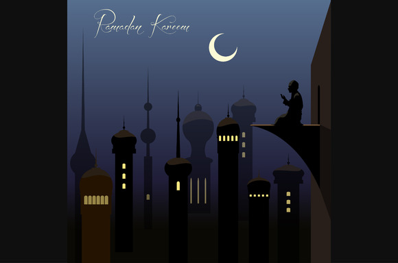 Beautiful Ramadan Kareem Background