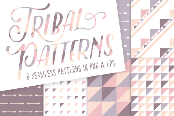 Tribal Patterns 6 Pack Bundle