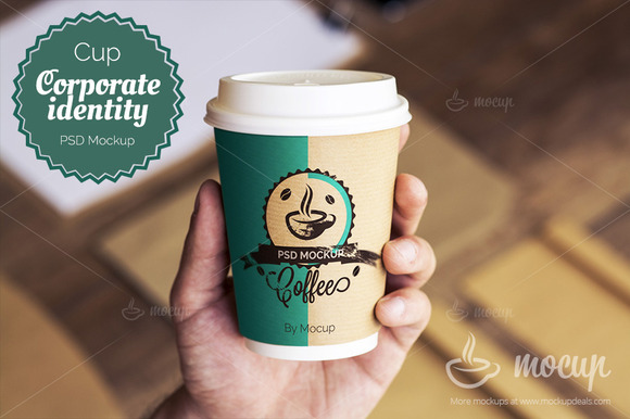 Corporate Identity Mockup Cup A