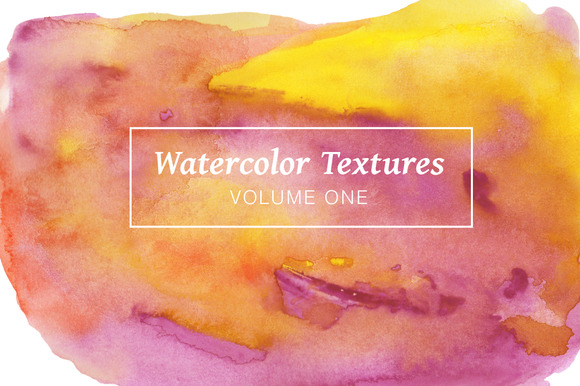 Multicolored Watercolor Pack