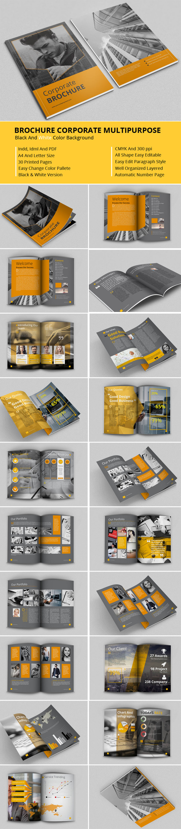 Brochure Corporate Multipurpose