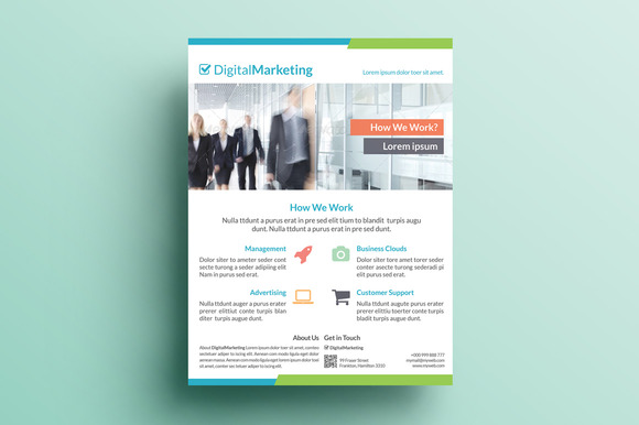 Creative Marketing Flyer V22