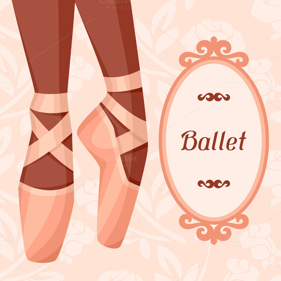 Invitation Cards To Ballet Show