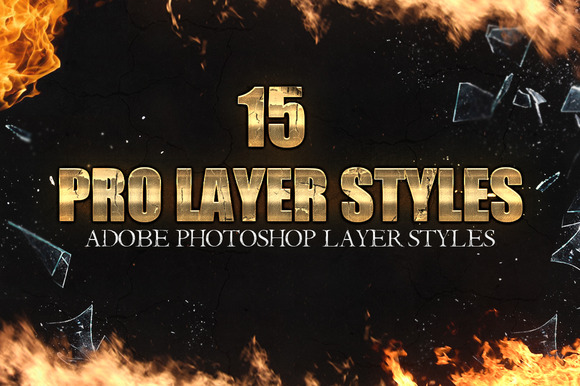 15 Pro Photoshop Layer Styles