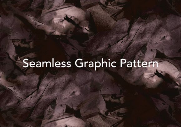 Seamless Abstract Graphic Pattern