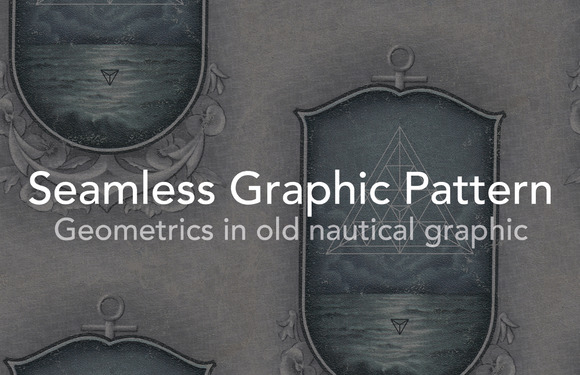 Nautical Geometric Graphic Seamless