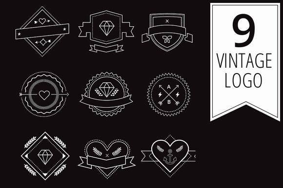 Modern Vintage Logo Design Elements