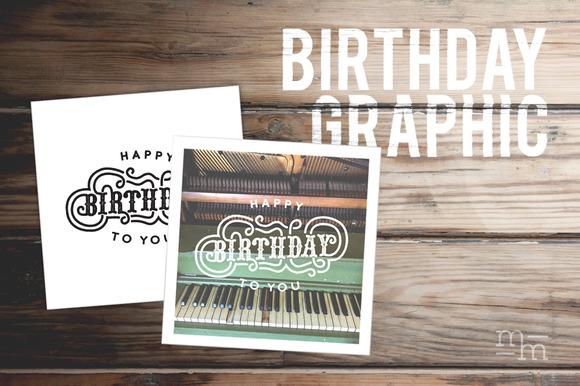 Printable Birthday Graphic
