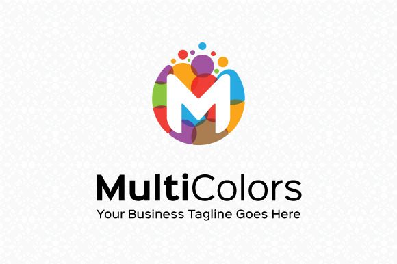 Multi Colors Logo Template