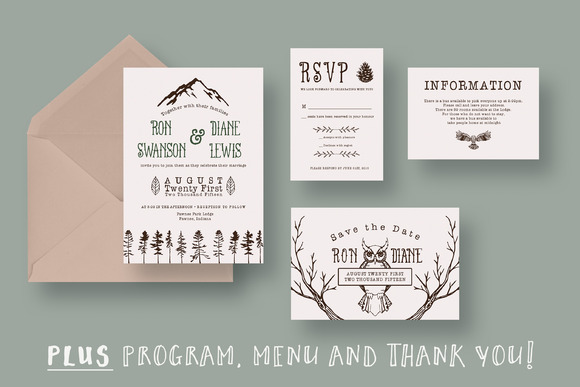 Outdoor Adventurer Wedding Suite