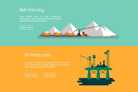 Oil Platform And Salt Production