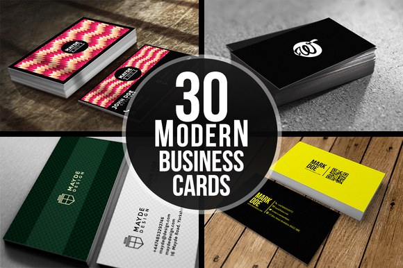 30 Modern Business Cards