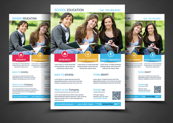 School Education Flyers
