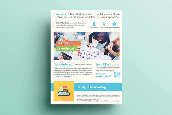 Creative Marketing Flyer V23