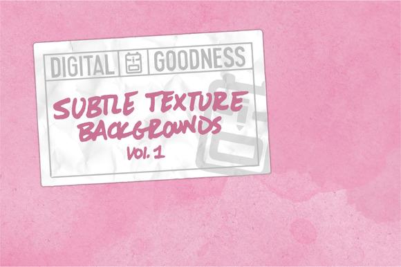 Subtle Texture Backgrounds Vol.1