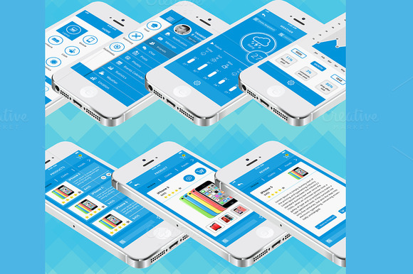Smart Shop IOS App UI Kit