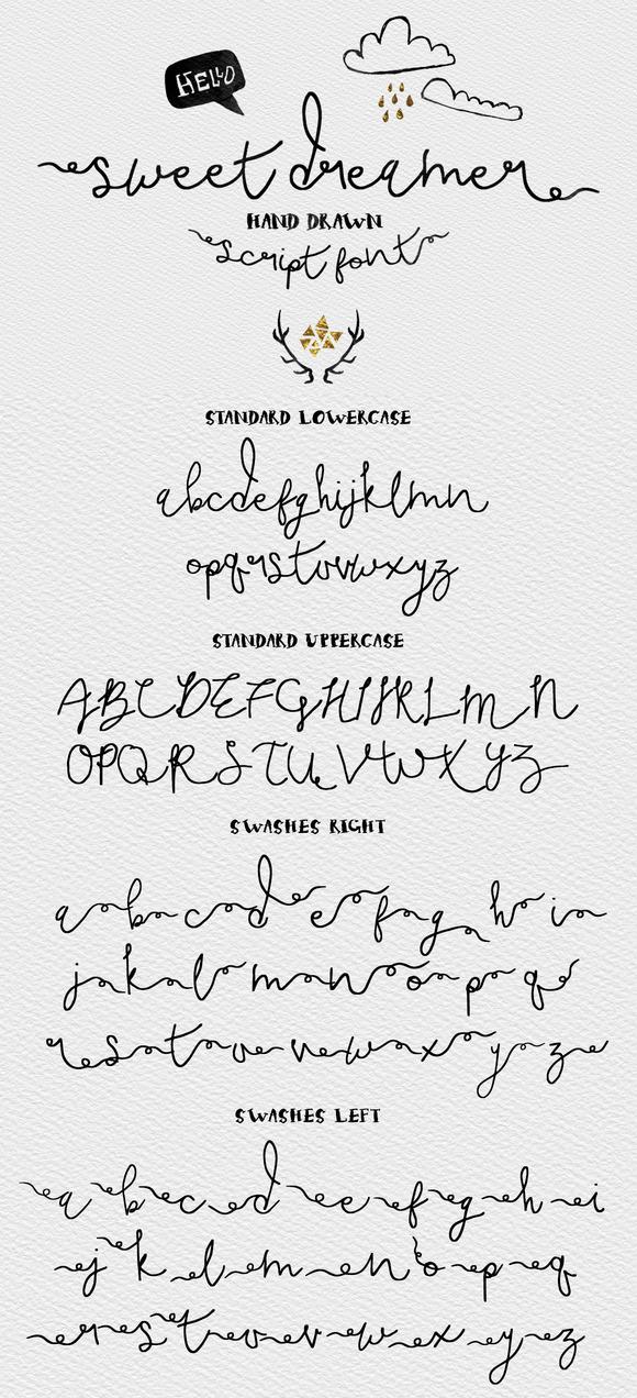 Sweet Dreamer Script Typeface