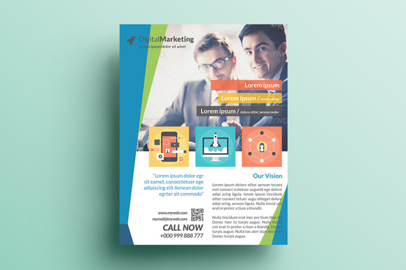 Creative Marketing Flyer V24