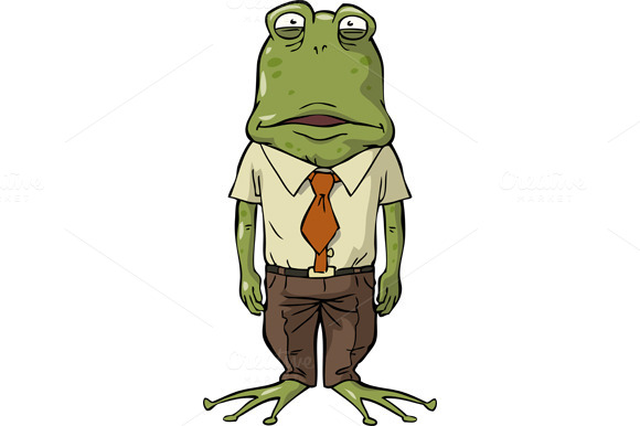 Office Frog