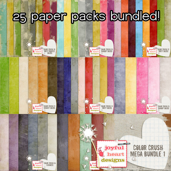 Color Crush Solids MEGA Bundle 1