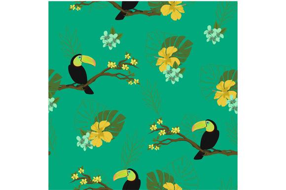 Birds Seamless Background