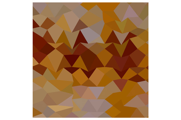 Mikado Yellow Abstract Low Polygon B