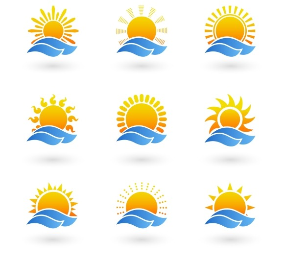 Sunrise Or Sunset Icons