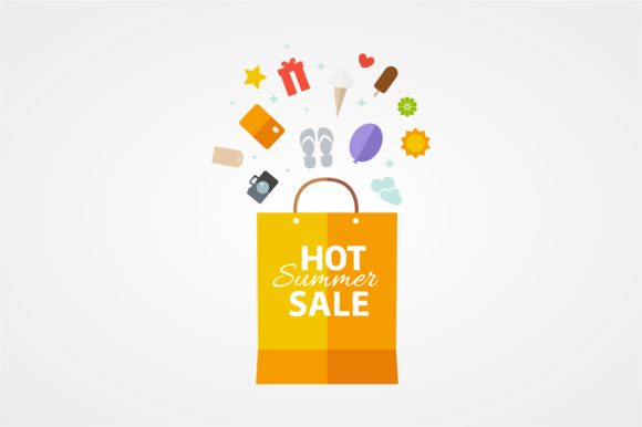 Summer Sale Vector Template