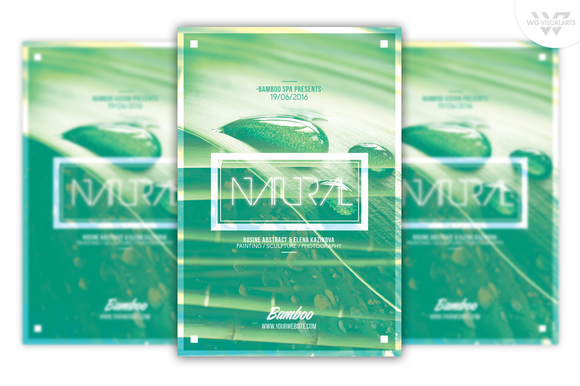 NATURAL Flyer Template