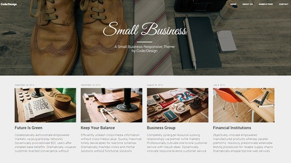 Small Business Bootstrap Theme