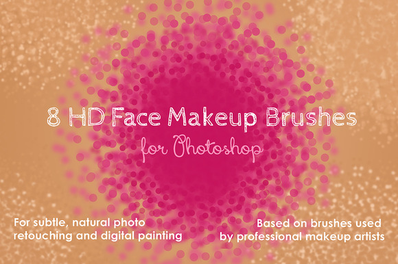HD Face Makeup Photoshop Brushes
