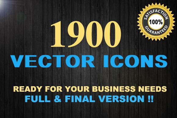 1900 Vector Icons Mega Set
