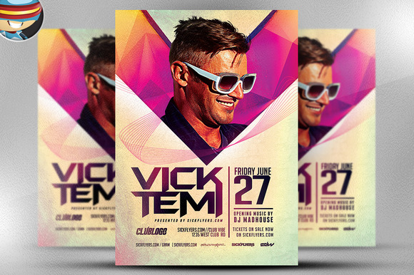 Premium DJ Flyer Template 2