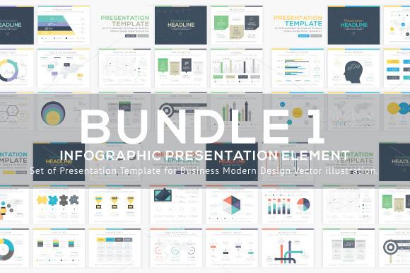 Infographic Presentation Vector Elem