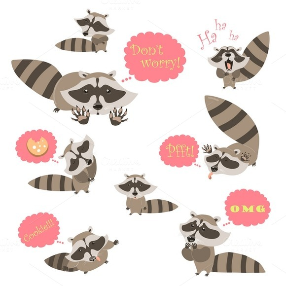 Collection Of Funny Raccoons