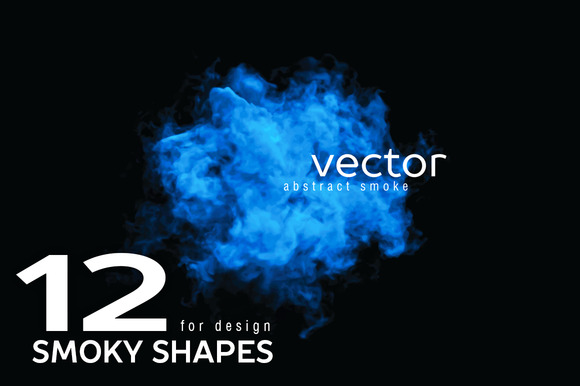 Vector Smoky Shapes