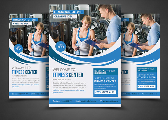 Health Sports Fitness Flyer