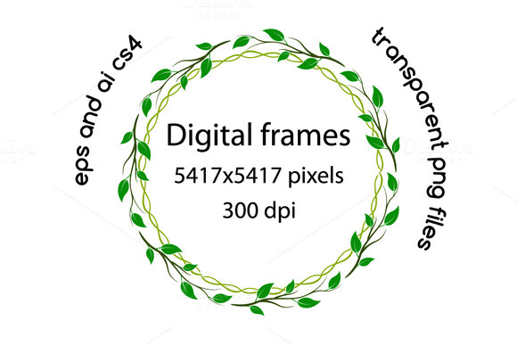 Spring Related Digital Frames