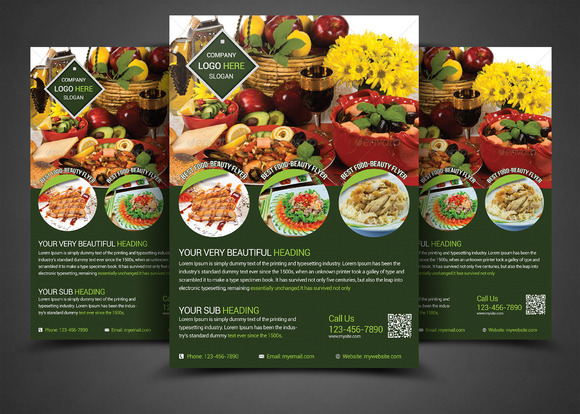 Multipurpose Business Flyers Templat