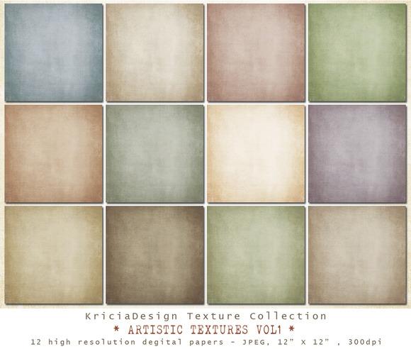 Artistic Textures Vol1