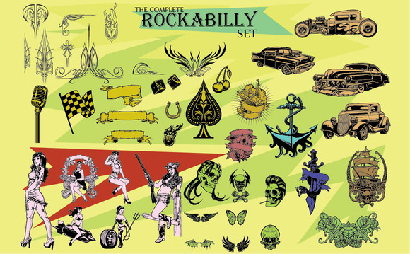 THE COMPLETE ROCKABILLY SET