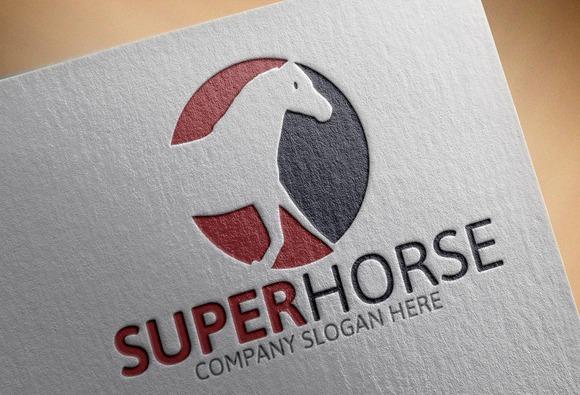 SЁ№per Horse Logo