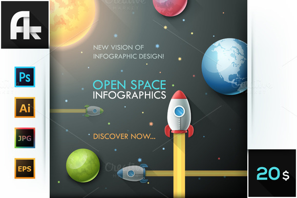 Open Space Infographics