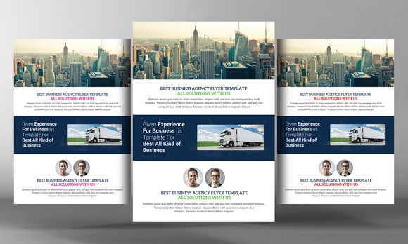 Creative Multipurpose Flyer Template