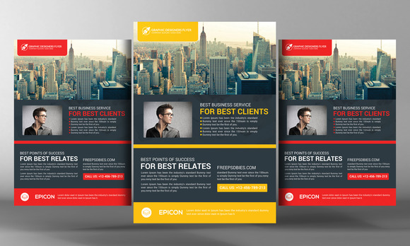 The Amazing Business Flyer Template