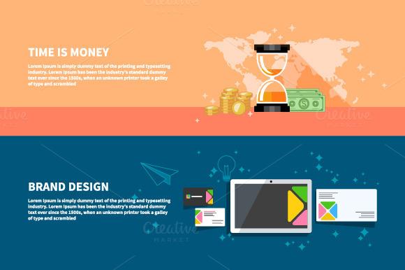 TIme Is Money Branding