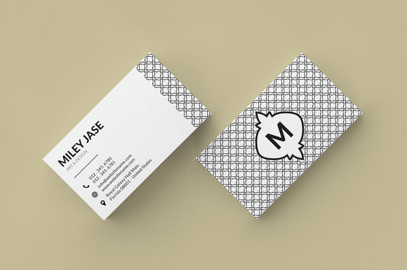 Mosiac Simple Business Card
