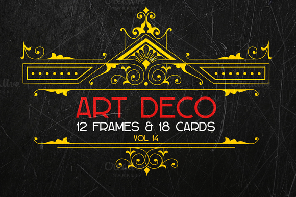 Art Deco Elements Vol 14