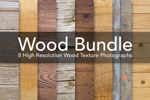 Wood Bundle Wooden Textures