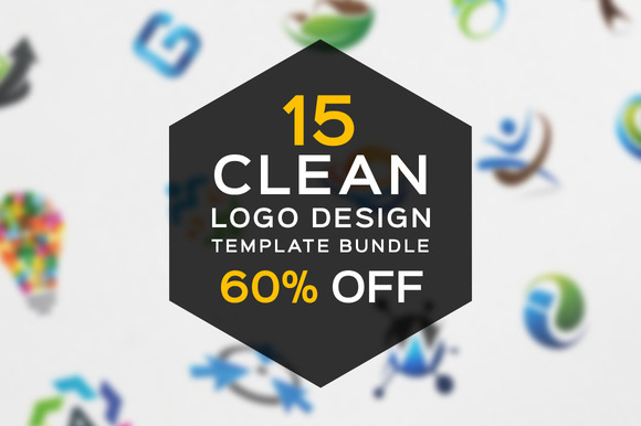 15 Clean Logo Design Bundle